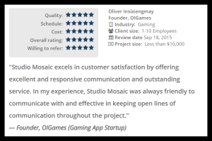 Studio Mosaic_review